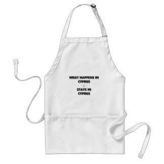 What Happens In CYPRUS Stays There Apron