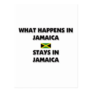 What Happens In JAMAICA Stays There Post Cards