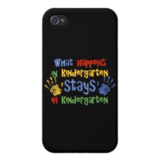 What Happens In Kindergarten 4G Case For iPhone 4