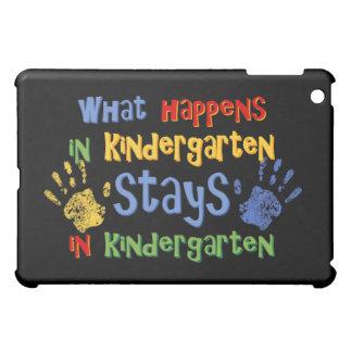 What Happens In Kindergarten  iPad Mini Cases