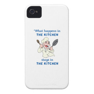 WHAT HAPPENS IN KITCHEN Case-Mate iPhone 4 CASE