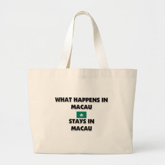 What Happens In MACAU Stays There Bags