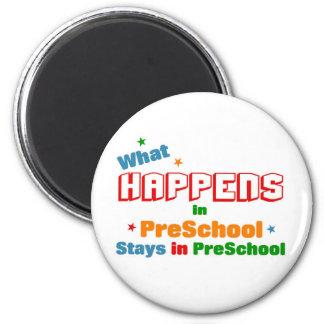 What happens in preschool fridge magnets