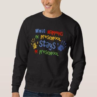 What Happens In Preschool Sweatshirt