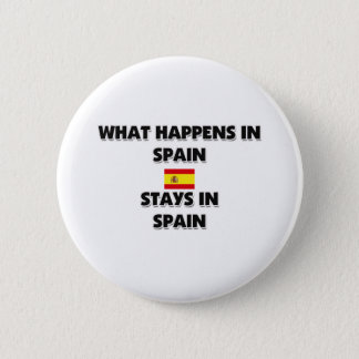 What Happens In SPAIN Stays There Button