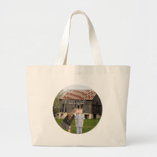 what happens in the barn stays in the barn jumbo tote bag