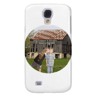 what happens in the barn stays in the barn samsung galaxy s4 cover