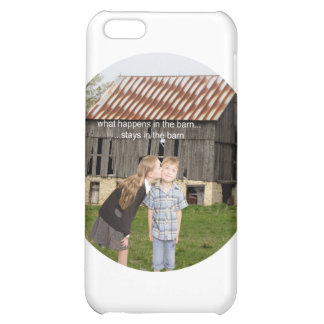 what happens in the barn stays in the barn iPhone 5C cover