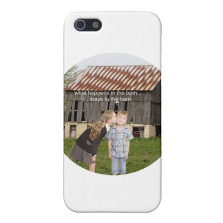 what happens in the barn stays in the barn iPhone 5 cover
