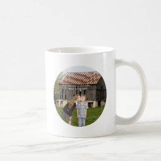 what happens in the barn stays in the barn classic white coffee mug