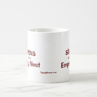 What Happens in the Empty Nest Classic White Coffee Mug