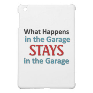 What happens in the Garage Case For The iPad Mini