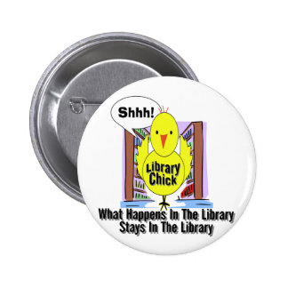 What Happens In The Library... Button