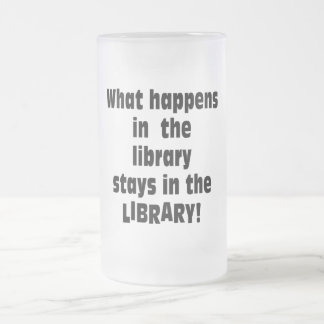What Happens in the Library Coffee Mugs