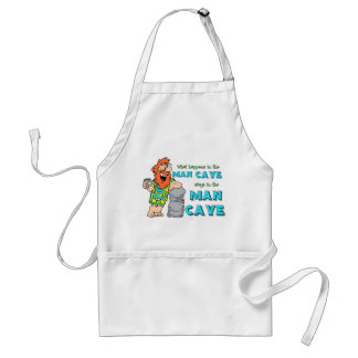 What Happens In The Man Cave Stays In The Man Cave Adult Apron