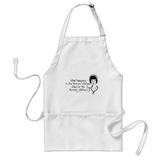 What Happens in the Nurses Station Adult Apron