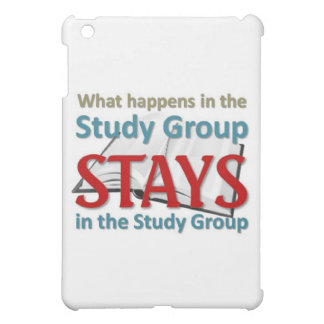 What happens in the study group iPad mini cover