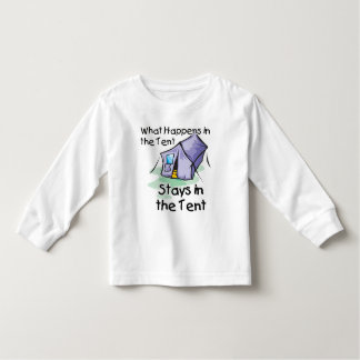 What Happens in the Tent Toddler T-shirt