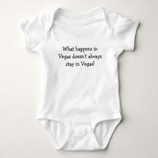 What happens in Vegas doesn't always stay in Ve... Baby Bodysuit