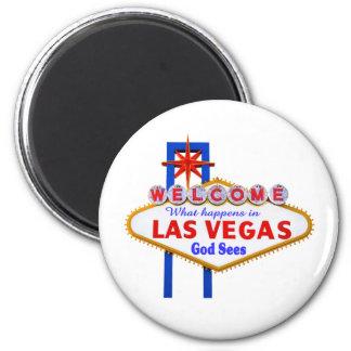 What Happens In Vegas magnet