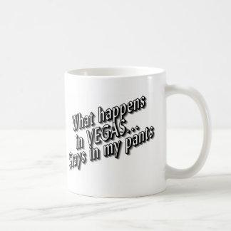 What Happens In Vegas Stays In My Pants Coffee Mug