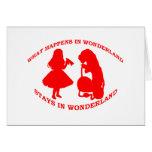What Happens In Wonderland...Stays In Wonderland Cards