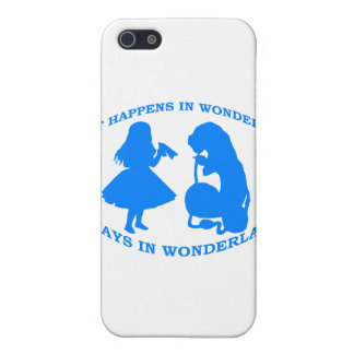 What Happens In Wonderland...Stays In Wonderland Case For iPhone SE/5/5s