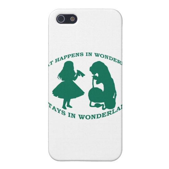 What Happens In Wonderland...Stays In Wonderland Case For iPhone SE/5/5s