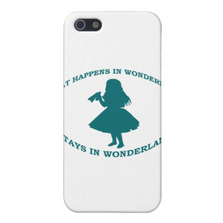 What Happens In Wonderland Stays In Wonderland Case For iPhone SE/5/5s