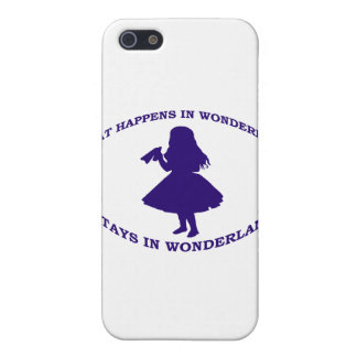 What Happens In Wonderland Stays In Wonderland Cover For iPhone SE/5/5s