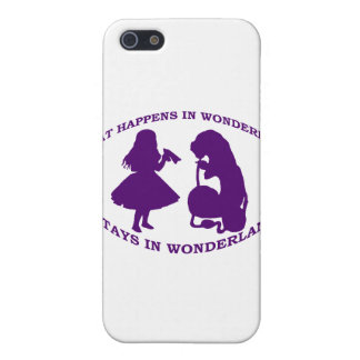 What Happens In Wonderland...Stays In Wonderland Cover For iPhone SE/5/5s