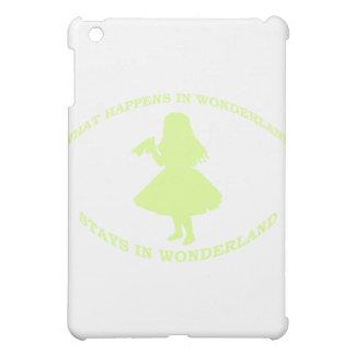 What Happens In Wonderland Stays In Wonderland iPad Mini Cover