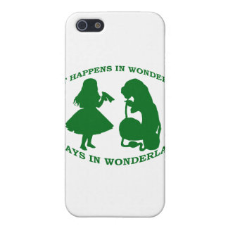 What Happens In Wonderland...Stays In Wonderland iPhone SE/5/5s Case