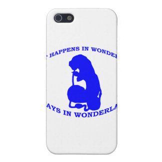 What Happens in Wonderland Stays In Wonderland iPhone SE/5/5s Cover