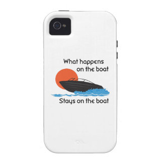 WHAT HAPPENS ON BOAT CASE FOR THE iPhone 4