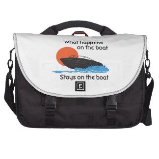 WHAT HAPPENS ON BOAT COMMUTER BAG
