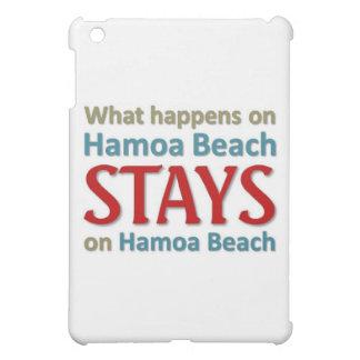 What happens on Hamoa Beach Case For The iPad Mini