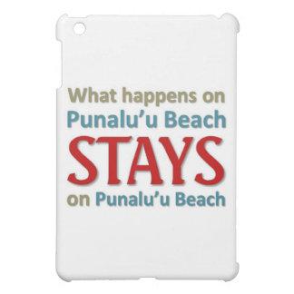 What happens on Punalu'u Island iPad Mini Covers