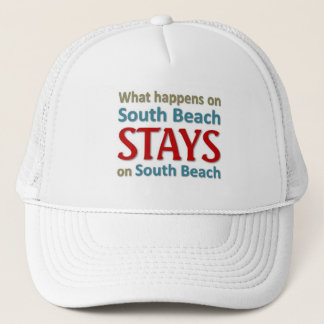 What happens on South beach Trucker Hat