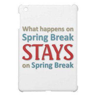 What happens on spring break cover for the iPad mini