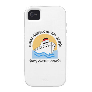 WHAT HAPPENS ON THE CRUISE iPhone 4 CASES