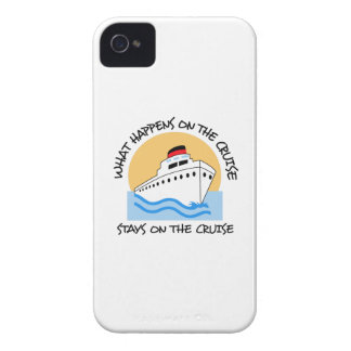 WHAT HAPPENS ON THE CRUISE iPhone 4 COVERS