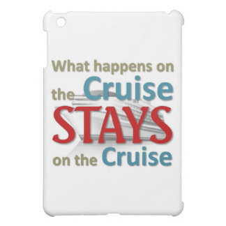 What happens on the cruise case for the iPad mini
