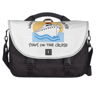 WHAT HAPPENS ON THE CRUISE COMMUTER BAGS