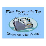 What Happens On The Cruise Postcard
