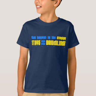 What Happens on the Drumline Child's T-Shirt