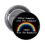 What Happens Over The Rainbow... 2 Inch Round Button