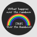 What Happens Over The Rainbow... Sticker