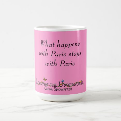 What happens with Paris Coffee Mug