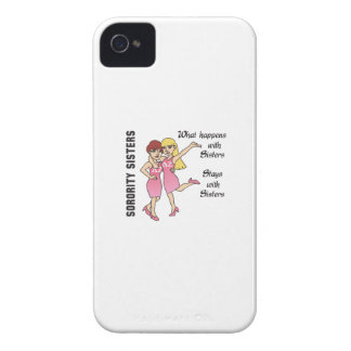 WHAT HAPPENS WITH SISTERS Case-Mate iPhone 4 CASES